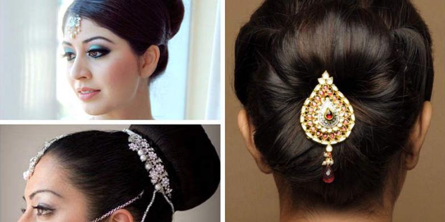 Bridal hair style to adorn short hair!