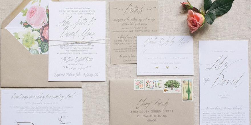 Ultra Lavish Wedding Invitations