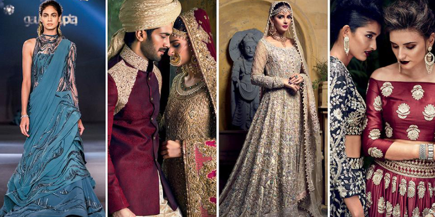 How to dress yourselves best for an evening party in a bridal lehenga?