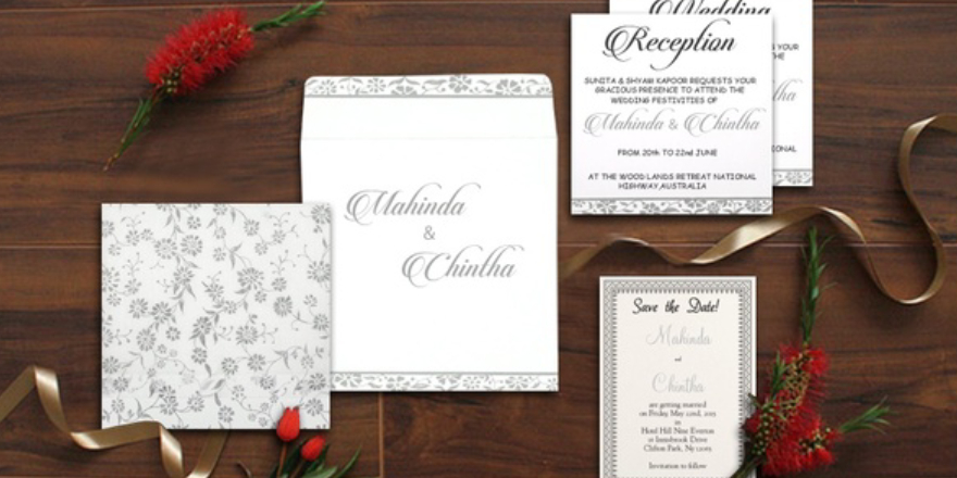 Choosing Your Indian Wedding Invitations